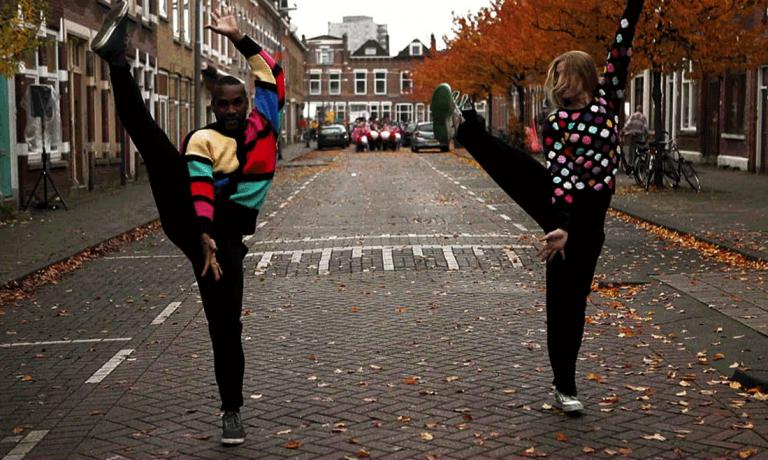 Flashmob Loes Veenstra